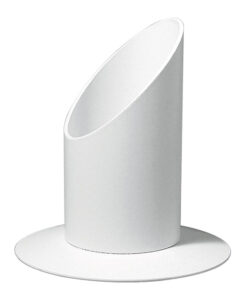 Kerzenhalter 40mm Durchmesser, weiß
