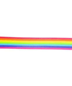 Wachs Zierstreifen Regenbogen