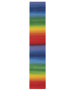 Wachs-Regenbogenflachstreifen