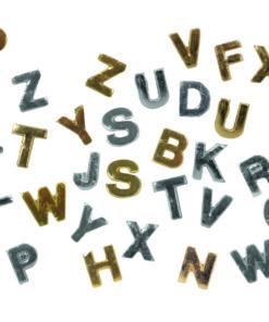 Wachs Buchstaben