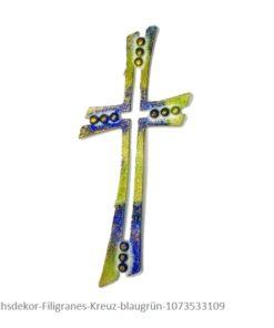 Wachsdekor Filigranes Kreuz