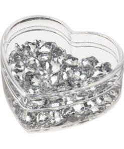 Herzen Streuteile Diamant