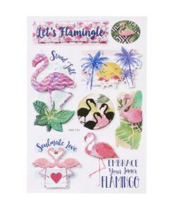 Sticker Flamingos